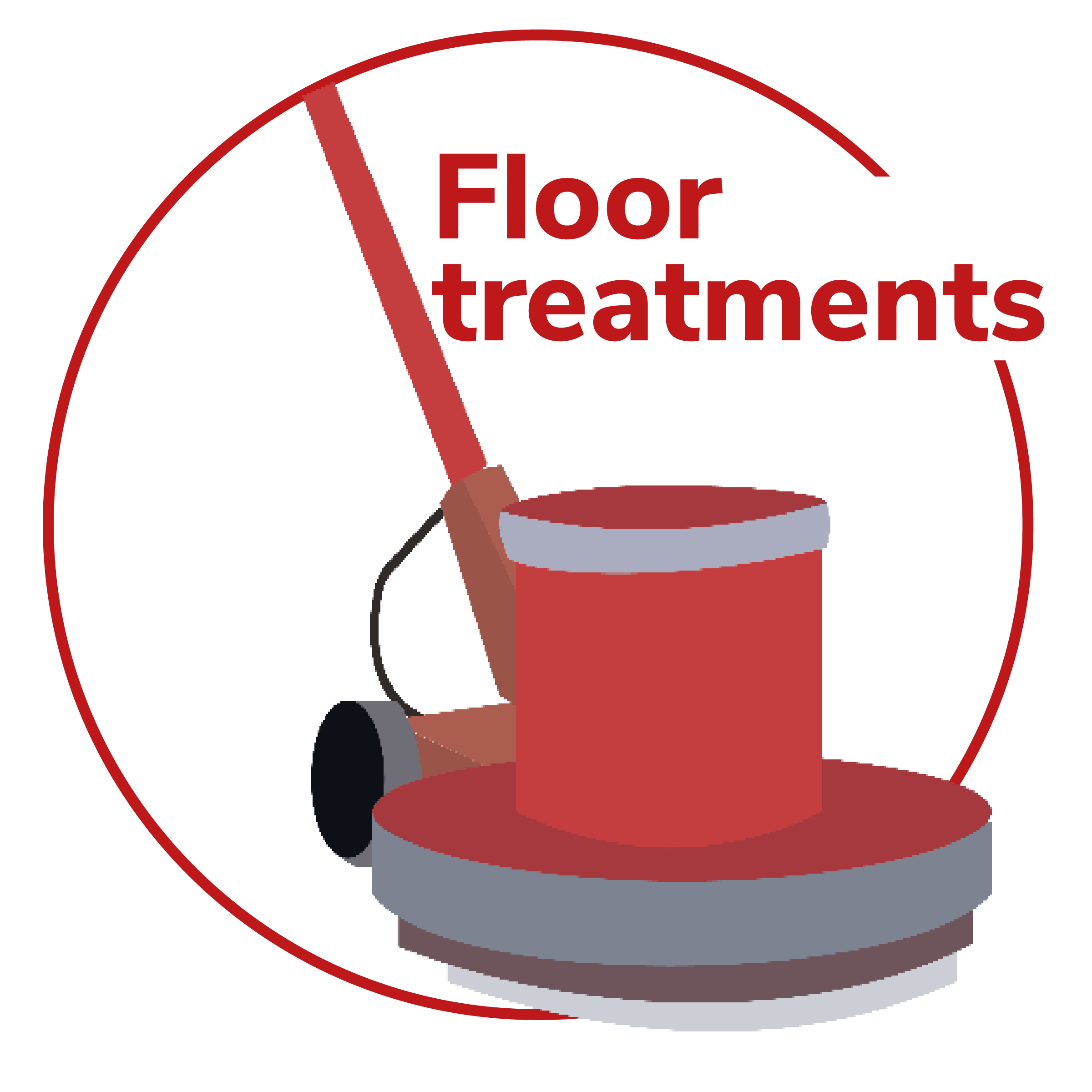 Special floor cleaning