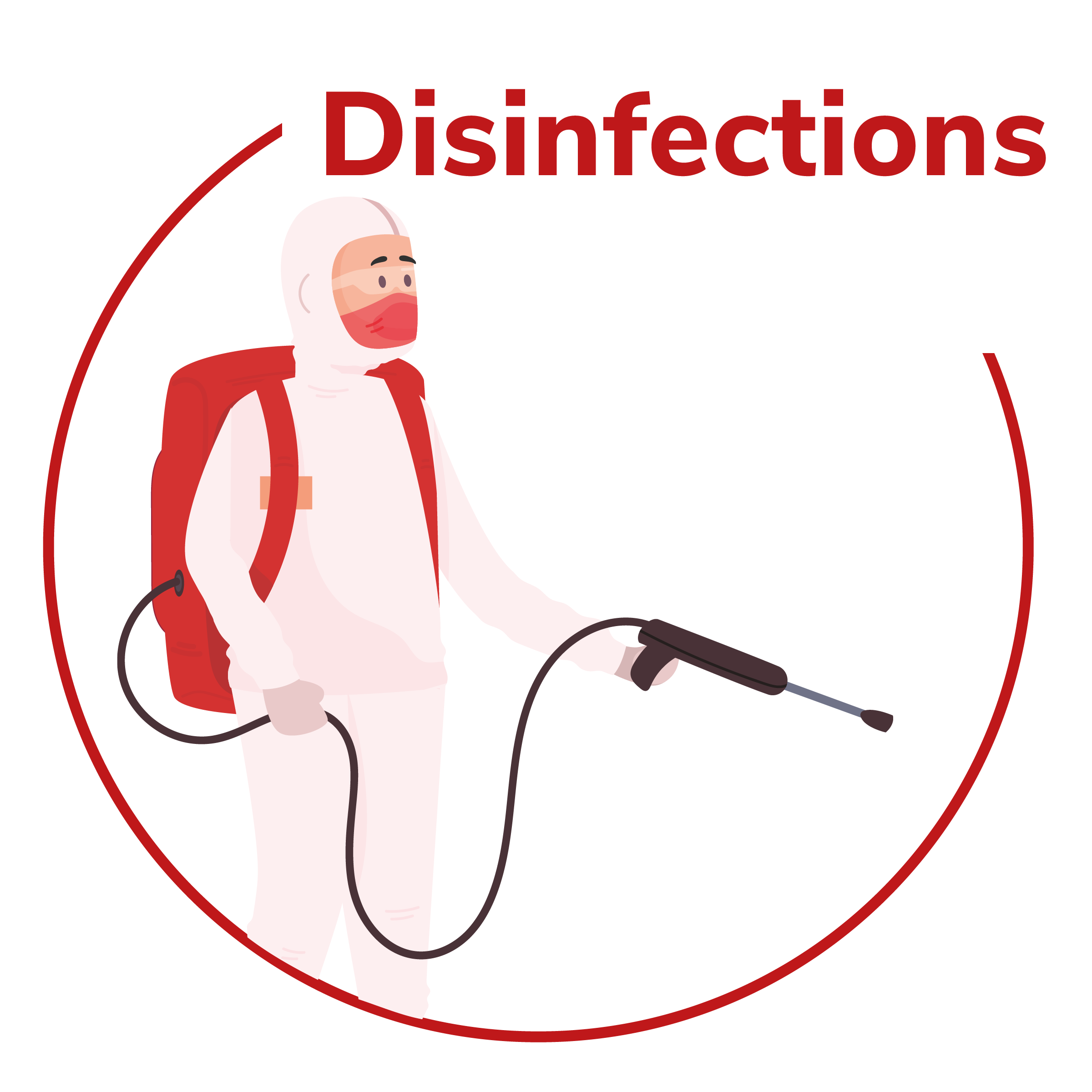 Disinfections works