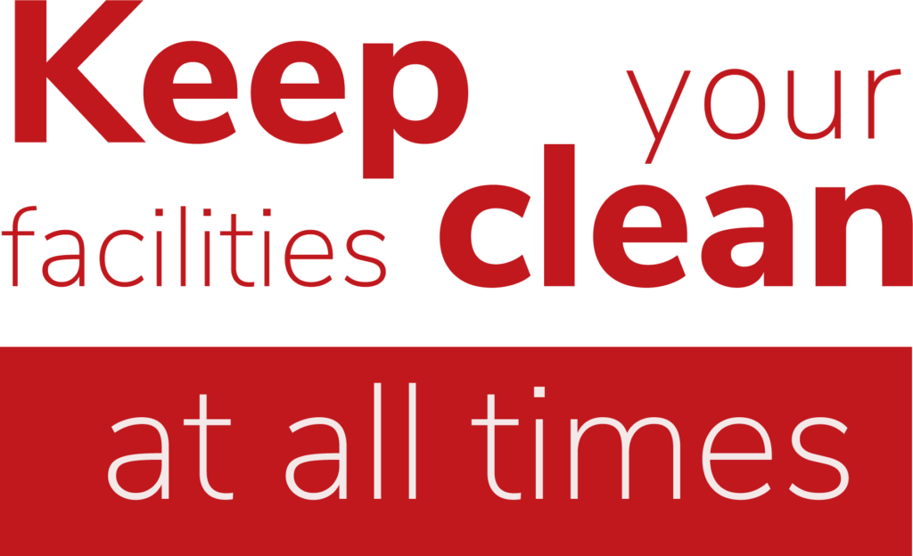 Clean all the time
